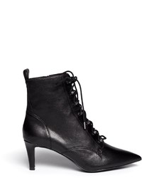 Ash Dagger Lace Up Leather Ankle Boots