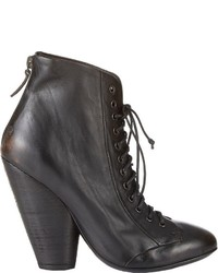 Marsèll Back Zip Ankle Boots Black