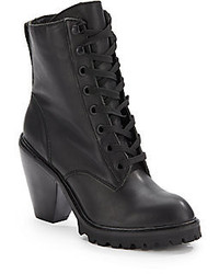 Breda Leather Ankle Boots