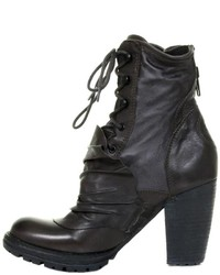 Bunker Footwear Ruffle Ankle Boot