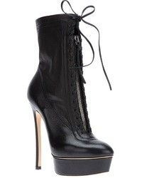 Casadei Lace Up Ankle Boot