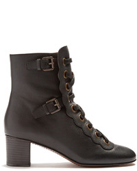 Chloé Chlo Orson Lace Up Ankle Boots