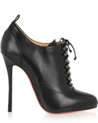 Christian Louboutin Swiftinetta 120 Leather Ankle Boots