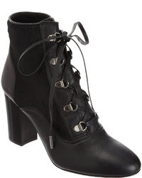 Lanvin Combo Lace Up Ankle Boot