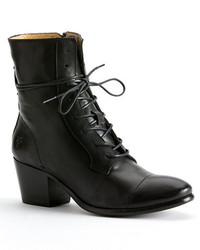 Frye Courtney Leather Heeled Ankle Boots