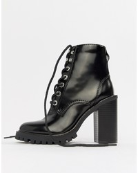 e5e7074fd1b Women's Lace-up Ankle Boots from Asos | Women's Fashion | Lookastic.com