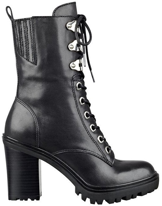 GUESS Gandy Lace Up Booties, $139
