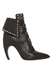 Givenchy 105mm Royal Studded Leather Ankle Boots