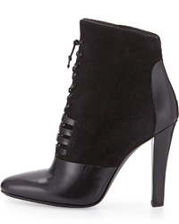 3.1 Phillip Lim Harleth Suede Leather Lace Up Bootie