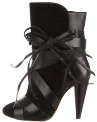 Isabel Marant Suede Lace Up Ankle Boots