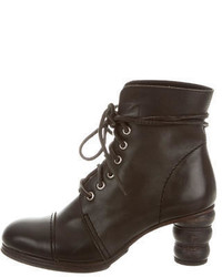 Junya Watanabe Comme Des Garons Lace Up Ankle Boots