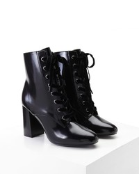 Forever 21 Lace Up Ankle Boots