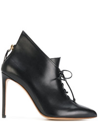 Francesco Russo Lace Up Ankle Boots