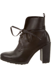 Pierre Hardy Lace Up Ankle Boots