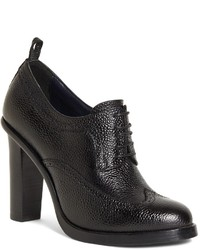 Brooks Brothers Lace Up Leather Booties