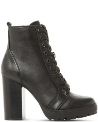 Steve Madden Laurie Leather Heeled Ankle Boots