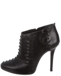 Giambattista Valli Leather Ankle Boots
