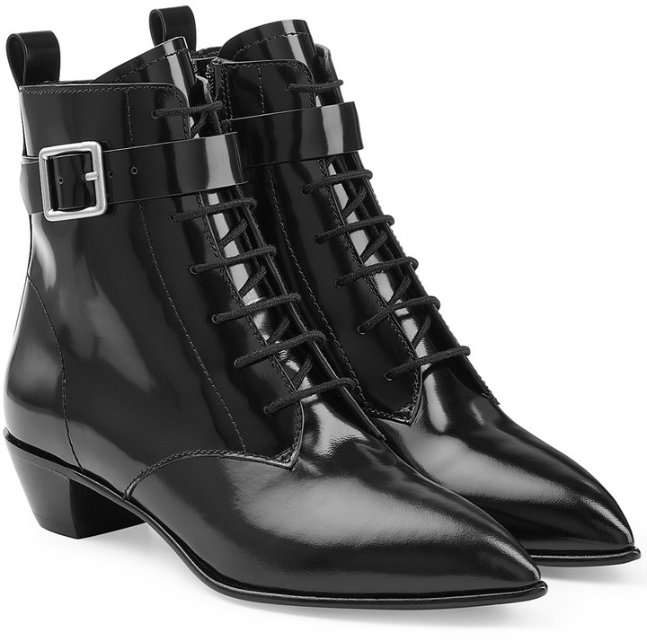 discount pre order Marc by Marc Jacobs Leather Lace-Up Ankle Boots discount clearance store outlet low shipping fee dwqnGkTCI