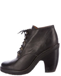 Rachel Comey Leather Lace Up Ankle Boots
