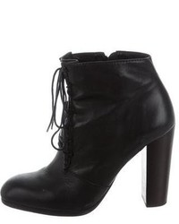 Elizabeth and James Leather Lace Up Ankle Boots