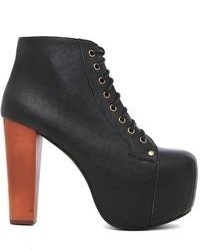 Jeffrey Campbell Lita Platform Lace Up Boot