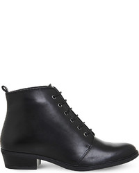 Office Loren Leather Ankle Boots