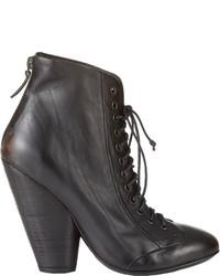 Marsèll Back Zip Ankle Boots Black