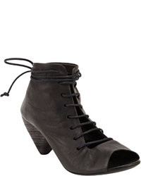 Marsèll Open Toe Lace Up Ankle Boots