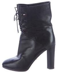 Diane von Furstenberg Paden Lace Up Ankle Boots