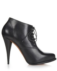Givenchy Perla Lace Up Leather Ankle Boots