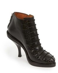 Givenchy Pitta Lace Up Leather Booties