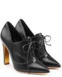 Rupert Sanderson Zena Leather Ankle Booties