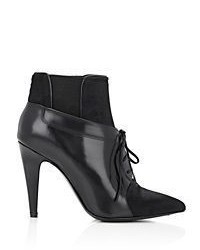 Alexander Wang Ryan Lace Up Booties Black Size 85