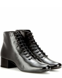 Saint Laurent Babies 40 Leather Ankle Boots