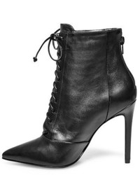 cdb18c507f6 ... Black Leather Lace-up Ankle Boots Steve Madden Paulinee Steve Madden  Paulinee Steve Madden Paulinee ...