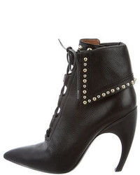 Givenchy Studded Lace Up Ankle Boots