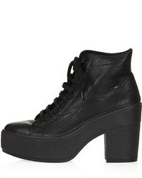 Topshop Astrix Platform Lace Up Boots