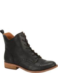 Kork-Ease Yoni K397 Ankle Boot Morosita Full Grain Leather Boots