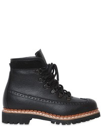 Tabitha Simmons 30mm Bexley Leather Hiking Boots