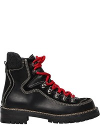 Dsquared2 40mm Canada Leather Hiking Boots