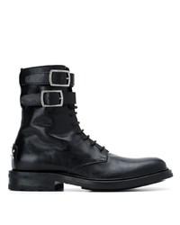 Saint Laurent Army Lace Up Boots