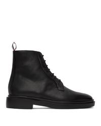 Thom Browne Black Blucher Lightweight Boots