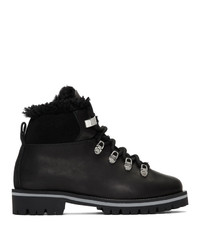Yves Salomon Black Merinillo Boots