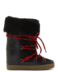 Isabel Marant Black Nowly Boots