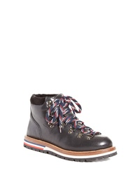 Moncler Blanche Lace Up Boot