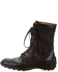 Tod's Brogue Ankle Boots