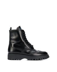 Prada Brogue Detailed Boots