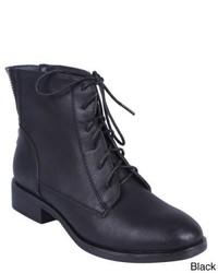 Elegant Inrrena 6 Lace Up Ankle Boots