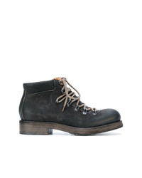 Del Carlo Heavy Lace Up Boots