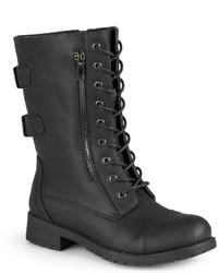 Journee Collection Kendel Combat Boots